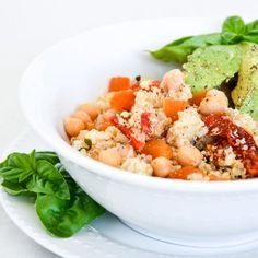 A Moroccan twist on a chickpea salad. Vegan and vegetarian friendly, as well as dairy and gluten free. A perfect meal for everyone to enjoy.