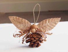 Autumn : Magic Craft Box : 2014 - The Magic Onions Pine Cone Fairy in Autumn Magic Craft Box : The Magic Onions Pinecone Crafts Kids, Acorn Crafts, Pine Cone Crafts, Autumn Crafts, Nature Crafts, Holiday Crafts, Crafts For Kids, Primitive Crafts, Primitive Christmas