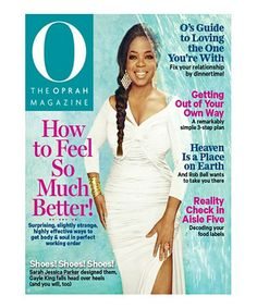 This The Oprah Magazine Subscription is perfect! #zulilyfinds