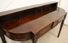 Scottish Mahogany Sideboard Serving Table - Antiques Atlas