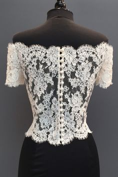 Lea-Ann Belter Bridal Accessories - My WordPress Website Gala Dresses, Couture Dresses, Fashion Dresses, Casual Dresses, Wedding Dresses, Sheer Lace Top, Lace Tops, Bridal Accessories, Blouse Designs