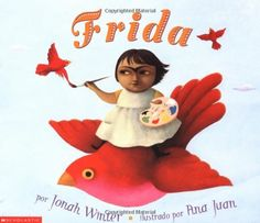 Trata-se de uma biografia da pintora mais famosa do México, no século XX: Frida Kahlo (1907-1954). O livro acompanha a infância e adolescência da artista, revelando a curiosidade que a menina tinha pelos objetos e pelo mundo, além do trágico acidente que deixou sequelas permanentes. A cultura mexicana foi uma grande inspiração para a pintora. A ilustradora Ana Juan povoou o livro com figuras desse imaginário, dando à obra um traço onírico que lembra as telas de Frida.