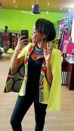 African cape blazers