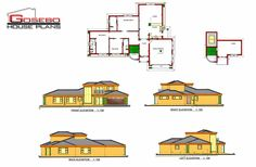 House Plans South Africa, Circle House, Free House Plans, Duplex House Plans, Tumi, Future House, Irish, Household, Villa