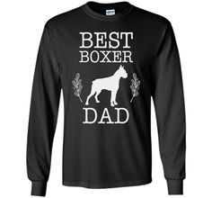 Best Boxer Dad Shirt Father's Day Gift for Dog Lover