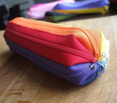 How to make zippers pencil case DIY step by step tutorial instruction