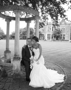 This lovely couple got married at Miskin Manor where we supplied all the bridal flowers, centrepieces, trees and wishing well.