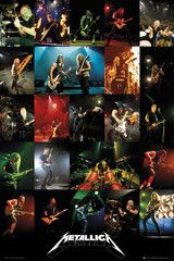 Metallica | Collage Poster Category-Maxi Poster Texture-Glossy Size-24''x36'' (61x91.5cm) (2x3 Ft) Shipping-Free Shipping. Usually dispatched within 48-72 Hours Packaging-The poster is bubble wrapped, sealed between paper sheets and then placed in special poster tubes so they are super secure when they reach you.