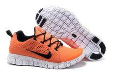 Nike Free Powerlines II Womens Orange Black and /Half Price Nike Free Powerlines 2 Half Price Nikes, Air Max Sneakers, Sneakers Nike, Nike Free 3, Running Shoes For Men, Black Nikes, Nike Air Max, Orange, Malli