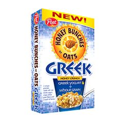 PINCHme Free Sample - Honey Bunches of Oats Greek Honey Crunch Goodness and taste in every bowl.