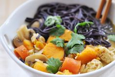 Thai Coconut Curry Noodle Soup