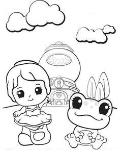 Squinkies Coloring Page! | Squinkies Activities | Pinterest | Pet ...