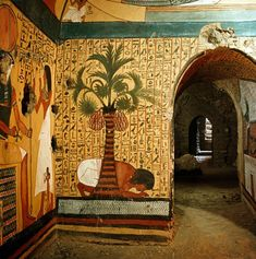 The private tomb of the royal tomb builder, Pashedu, 19th dynasty/1295-1186 BC, Deir el-Medina