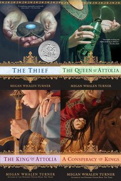 Book Recommendations - The Queen's Thief
