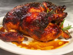 Lacquered Chicken