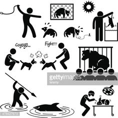 http://media.gettyimages.com/vectors/animal-cruelty-abuse-by-human-stick-figure-pictogram-icon-vector-id478427673?s=170667a