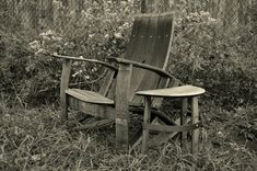 I love the rustic look of this chair and the fact it is made from recycled materials makes it better!