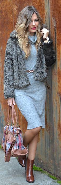 Shades Of Grey Outfit by Mi Aventura Con La Moda