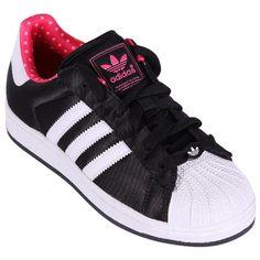 Adidas Superstar 2 W Damen Schuhe Originals Sneakers Schwarz Weiß Neu Q23588