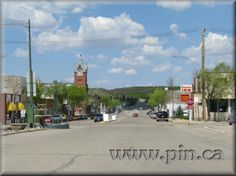 when raised in a valley -you have a private sky.  Minnedosa Manitoba