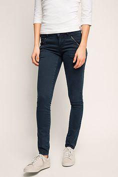 edc - Stretch-Hose mit Zippertaschen im Online Shop kaufen
