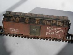 Boxcar Roof Weathering