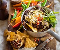 Hot chipotle bean dip by Nadia Lim | NadiaLim.com