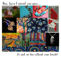Boy, have I missed you guys..... by rescuedofferings on Polyvore featuring art, integrityTT and EtsySpecialT