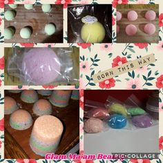Assorted Bath Bombs scent list included