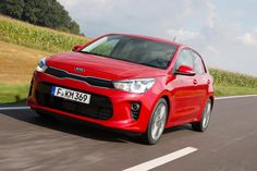 These are the first pictures of the all new Kia Rio ahead of its launch at the Paris Motorshow.  It will be on sale in Europe during the first part of the 2017.  This Rio will be the first car in its class to have Autonomous Emergency Braking with pedestrian recognition.  It will be available with a new