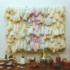 Truly stunning wall hanging @theplatformexperiment at the @justinablakeney curated show ❤
