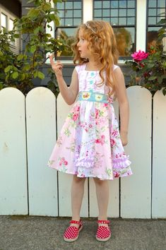 Buy 2 get 1 Free.Roxanne Cap Sleeve Knit Bodice Dress PDF Sewing Pattern for Girls (Sz - Cinderella Dresses, Sweet Dress, Pdf Sewing Patterns, Sewing For Kids, Cap Sleeves, Bodice, Girl Things, Summer Dresses, Knitting