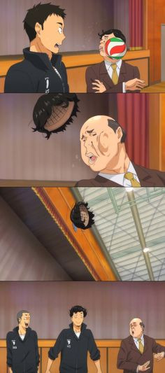 Haikyuu !! || LOL best moment in the anime xD Read my review for Haikyuu here: http://www.animedecoy.com/2015/05/haikyuu-anime-review.html Who else enjoyed Haikyuu?