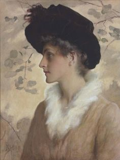 Portrait of a Lady (1888) | George Henry Boughton
