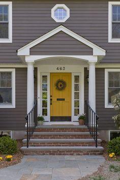 Benjamin More Yellow Marigold  7 Fabulous Colors for Your Front Door