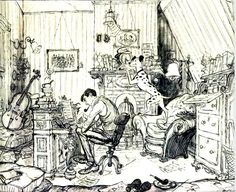 Ronald Searle Tribute: Meeting Ronald Searle Part 1: Reportage Illustration & animation