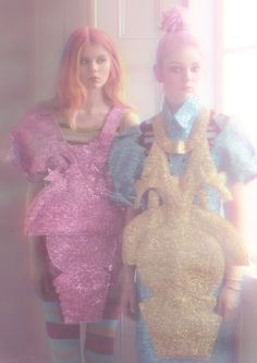 Fashion Editorial: Pink Haze