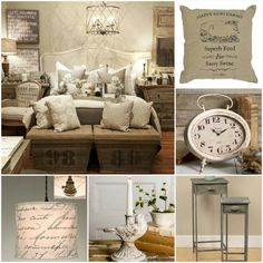 Looking To Farmhouse Your Bedroom? Www.juteandburlap.com Has What You Need! French  IndustrialIndustrial ...