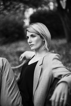 Doctor Who Spoiler News an exciting time when Jodie Whittaker has become the only female Doctor in the shows History Doctor Who Cast, The New Doctor, Selena, 13th Doctor, Doctor 13, Eleventh Doctor, Female Doctor, Dalek, Monochrom