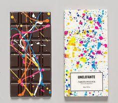 예술이 된 초콜릿 - Unelefante