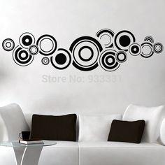 diseños con circulos para paredes - Buscar con Google
