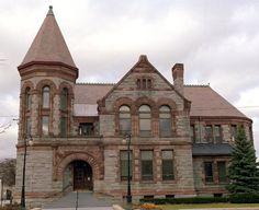 Hackley Library, Muskegon, Michigan