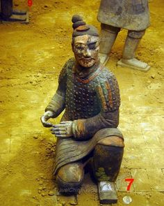 Pictures of Polychrome Terracotta Warriors