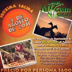 Si No pudiste ir a #africamsafari este #domingo te invitamos para el próx. 4 de #agosto http://www.turismoenveracruz.mx/2013/07/vamos-a-africam-safari-este-4-de-agosto-2013-saliendo-de-veracruz-y-xalapa/ #veracruz #xalapa