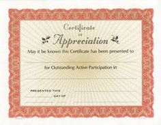 Certificate Of Appreciation Template For Word Magnificent Certificate Of Recognition And Appreciation Template  Certificate .
