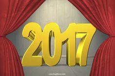 happy new year 2017 screen saver