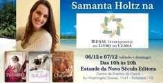 Samantha Holtz marca presença na Bienal de Fortaleza