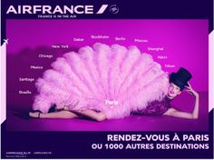 France is in the air, nouvelle pub Air France