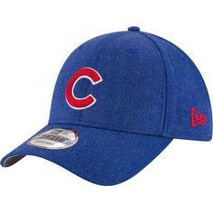 8739f2c63ef Men s Chicago Cubs New Era Heathered Royal Crisp 9FORTY Adjustable Snapback  Hat