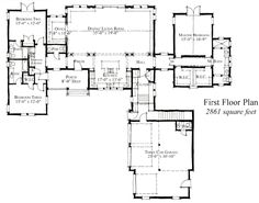 First Floor Plan of Country Farmhouse House Plan 73904 Interesting concept. First Floor Plan of Country Farmhouse House Plan 73904 Interesting concept. Farmhouse Floor Plans, Country Farmhouse, Modern Farmhouse, Farmhouse Ideas, New House Plans, Dream House Plans, Dream Home Design, House Design, Historic Homes